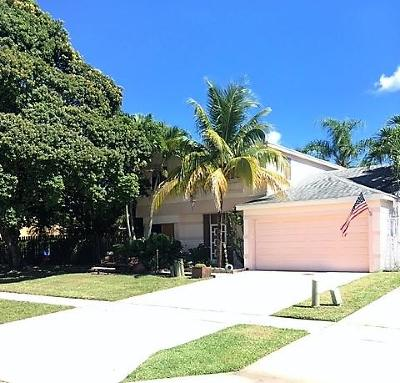 Boca Raton Single Family Home For Sale: 18636 Shauna Manor Drive