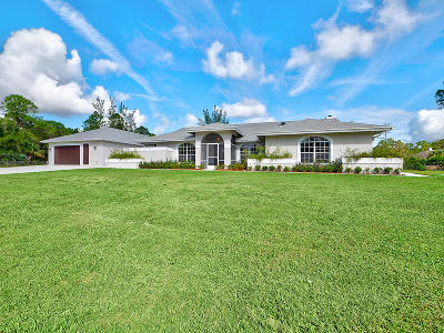 Acerage, Acreage, Acreage & Unrec, Acreage& Unrec, Acreage&unrec, Acreage, Loxahatchee, Acreage/Royal Ascott, Areage, Loxahatchee, Loxahatchee/Acreage, Royal Ascot Estates, Royal Palm Beach Acreage, The Acreage, The Acreage/Loxaha, Acarage Single Family Home For Sale: 16737 82nd Road