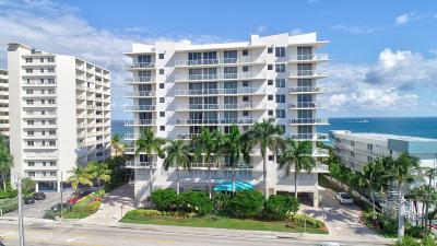Pompano Beach Condo For Sale: 704 Ocean Boulevard #603