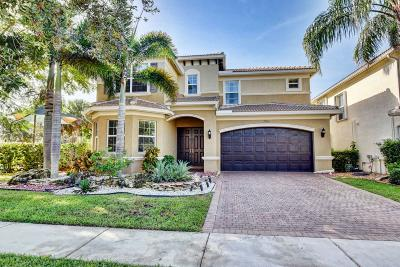 Boynton Beach Single Family Home For Sale: 7926 Emerald Winds Circle