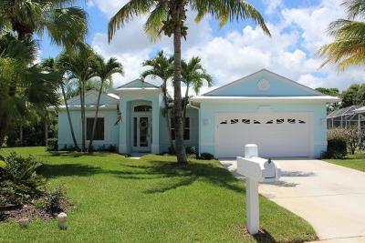 Palm City Single Family Home Contingent: 1196 SW Rosemary Court