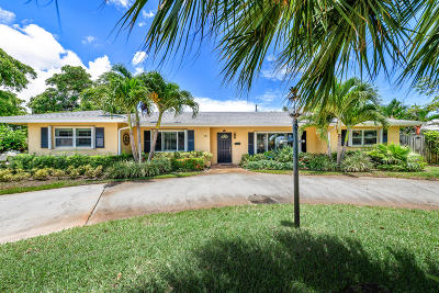 North Palm Beach Single Family Home For Sale: 137 Dory Road S