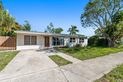Lake Worth, Lakeworth Single Family Home For Sale: 628 Snowden Drive