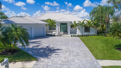 Jupiter Single Family Home For Sale: 106 Locha Drive Drive