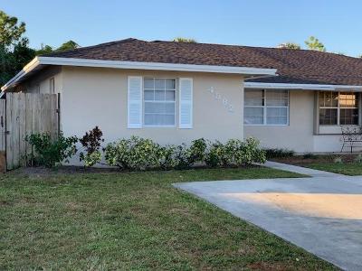 Palm Beach Gardens Single Family Home Contingent: 4582 Arthur Street