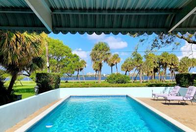 Lake Worth, Lakeworth Single Family Home For Sale: 312 S Lakeside Drive S
