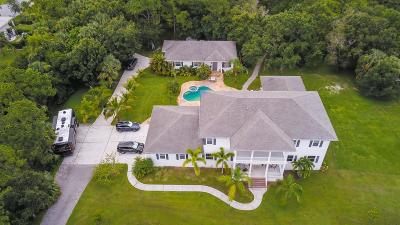 Jupiter Single Family Home For Sale: 17736 103rd Terrace