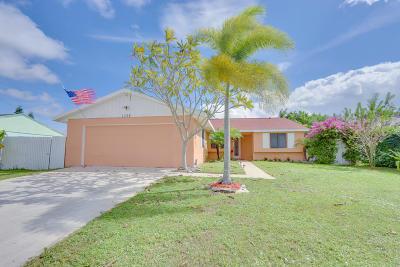 Royal Palm Beach Single Family Home For Sale: 1328 Ryan Lane