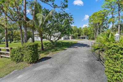 Loxahatchee Single Family Home For Sale: 17893 71st Lane