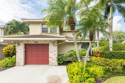 Deerfield Beach Townhouse For Sale: 3108 Lake Shore Drive