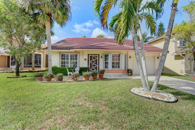 Boca Raton Single Family Home For Sale: 18074 Clear Brook Circle