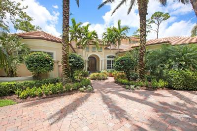 Palm Beach Gardens FL Single Family Home For Sale: $1,825,000