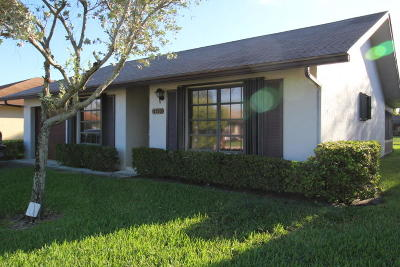 Greenacres Single Family Home For Sale: 6293 Tall Cypress Circle