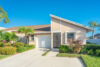 Boca Raton FL Single Family Home Contingent: $186,000
