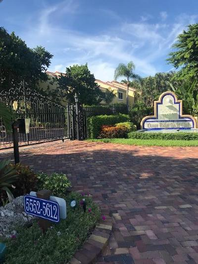 Ocean Ridge Townhouse For Sale: 5588 Ocean Boulevard
