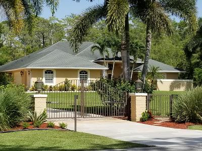 Lake Worth, Lakeworth Single Family Home For Sale: 6037 Reynolds Road