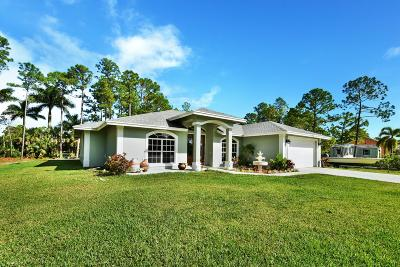 Loxahatchee Single Family Home For Sale: 17729 Key Lime Boulevard