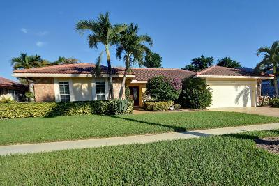 Boca Raton Single Family Home For Sale: 19544 Sedgefield Terrace