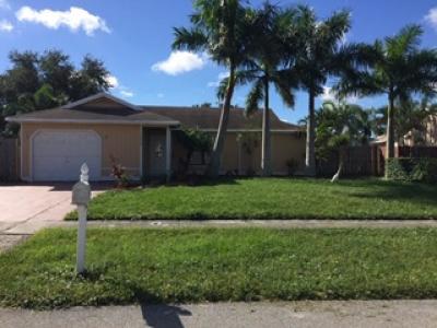 Royal Palm Beach Single Family Home For Sale: 10090 Yeoman Lane