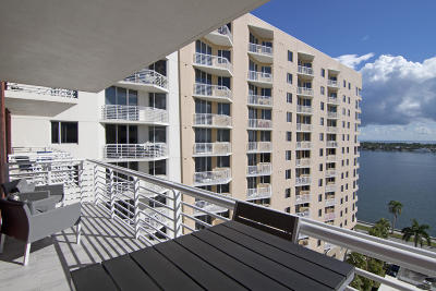 West Palm Beach Condo For Sale: 1551 Flagler Drive #1211