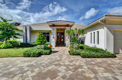 Delray Beach Single Family Home For Sale: 4557 Live Oak Boulevard