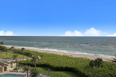 Juno Beach Condo For Sale: 530 Ocean Drive #601