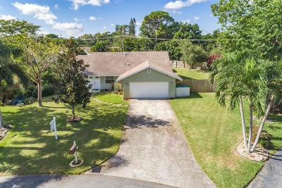 Boynton Beach Single Family Home For Sale: 926 SW 27th Terrace