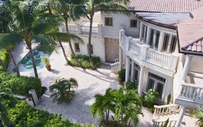 West Palm Beach Single Family Home For Sale: 1017 Flagler Drive