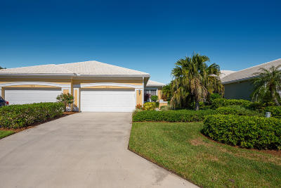 Palm City Single Family Home For Sale: 1880 SW Willowbend Lane