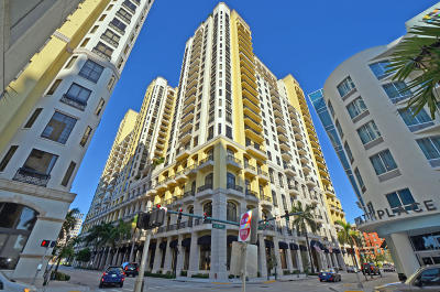 West Palm Beach Condo For Sale: 701 S Olive Avenue #1804