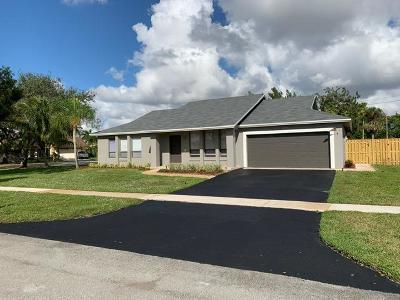 Cooper City Single Family Home For Sale: 5200 SW 87th Avenue