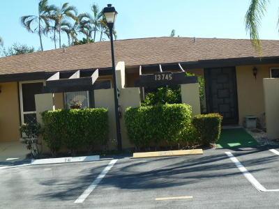 Delray Beach Single Family Home For Sale: 13745 Via Aurora #A