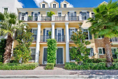 Delray Beach Townhouse For Sale: 322 W Cannery Row Circle