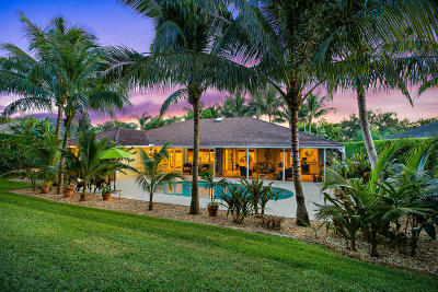 Tequesta Single Family Home For Sale: 18181 SE Ridgeview Drive