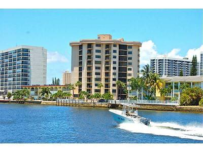 Pompano Beach Condo For Sale: 501 Riverside Drive #302