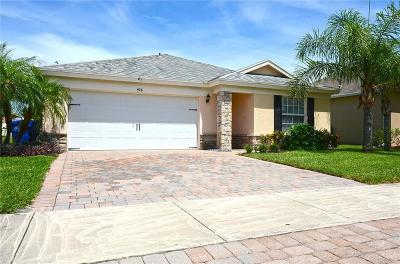 Vero Beach Single Family Home For Sale: 428 Lexington Boulevard SW