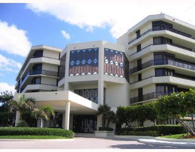 Palm Beach Condo For Sale: 3100 S Ocean Boulevard #404n