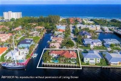 Palm Beach County Single Family Home For Sale: 1690 Del Haven Drive