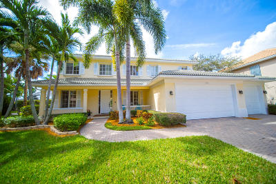 Jupiter Single Family Home For Sale: 522 Quail Point