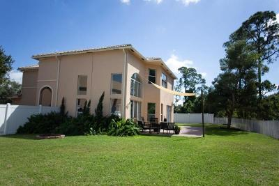 Fort Pierce Single Family Home For Sale: 5517 Spanish River Road