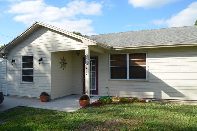 Vero Beach Single Family Home For Sale: 1856 20th Place SW