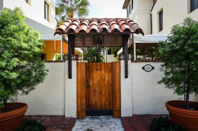 Palm Beach Condo For Sale: 214 Chilean Avenue #K