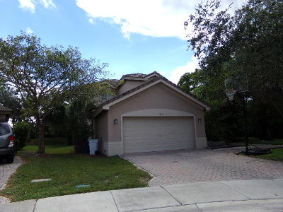 Parkland Single Family Home Contingent: 6163 NW 110th Avenue