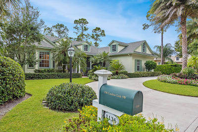 Vero Beach Single Family Home For Sale: 1136 Carolina Circle SW