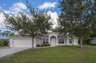 Port Saint Lucie Single Family Home For Sale: 749 SW College Park Road