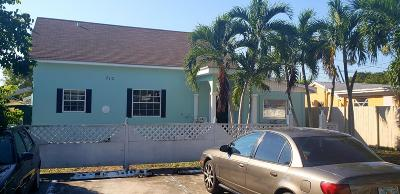 West Palm Beach Single Family Home For Sale: 710 Southern Boulevard