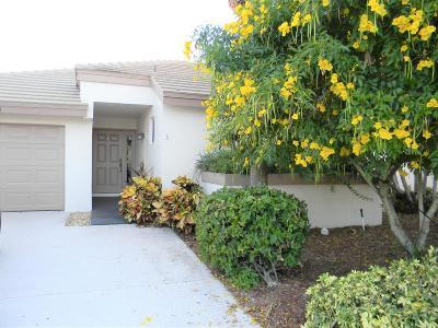 Boynton Beach Single Family Home For Sale: 12121 Bay Club Drive