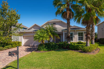 Palm City Single Family Home For Sale: 468 SW Sun Circle