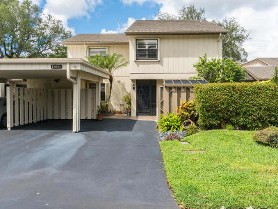Deerfield Beach Townhouse For Sale: 1865 Deer Creek Wildwood Lane