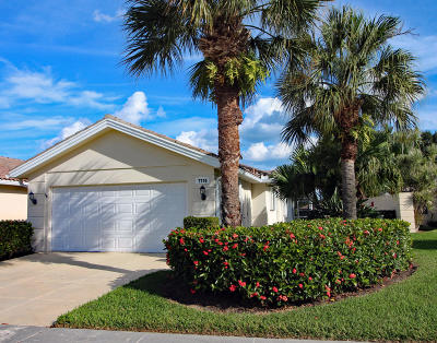 Hobe Sound Single Family Home For Sale: 7770 SE Spicewood Circle